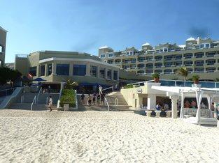 Hotel Panama Jack – Eingang vom Strand aus