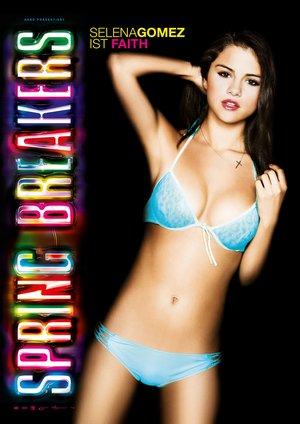 Filmplakat zu Spring Breakers mit Selena Gomez