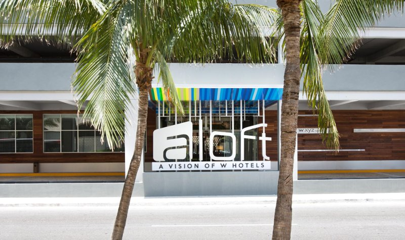 Aloft Hotel in Cancun